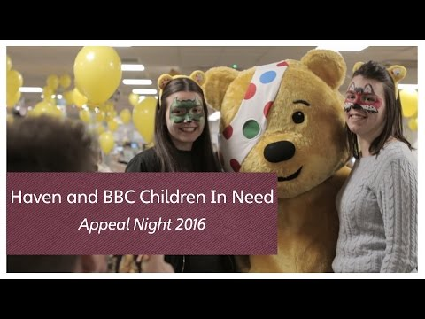 Haven and BBC Children In Need Appeal Night 2016