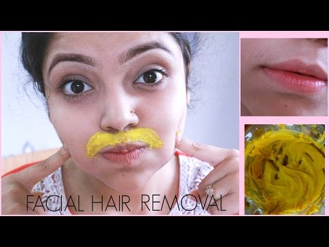 DIY Facial Hair Removal Mask | Naturally & Permanently at Home