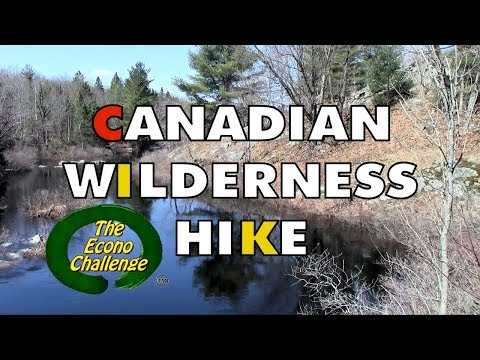Spring Hike in a Canadian Crown Land Forest - Econo Challenge