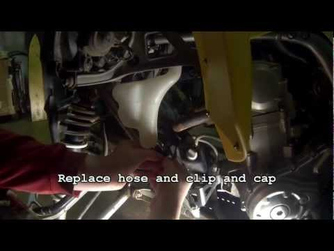 How to Change Coolant on a Raptor 700