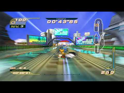 Sonic Riders: Metal City 01'50''10 Fly Type (No High Booster)