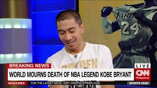 World mourns death of NBA legend Kobe Bryant