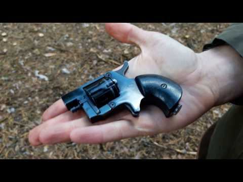 Magnesium ammo for little 4mm flobert gun. Censored version.