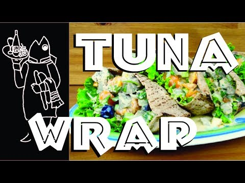 Need A Fish Sandwich 😯  For Your Cook Your Catch Tuna? How To Make A Mediterranean Tuna Wrap Recipe
