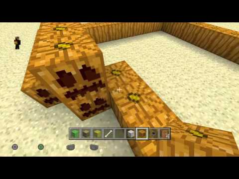Minecraft how to build a rabbit  hutch.Funny