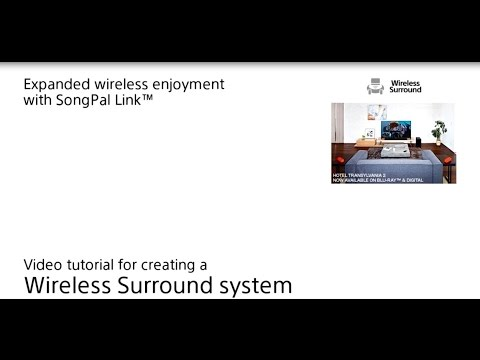 How to setup Wireless Surround