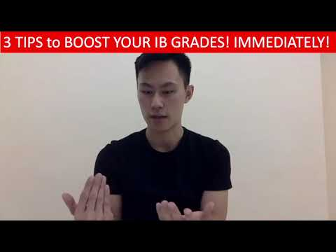 3 Tips to boost your IB grade immediately!
