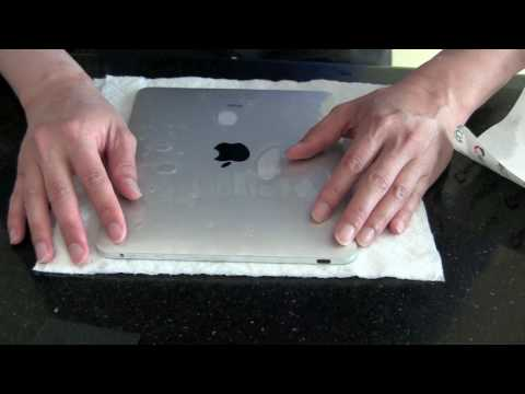 How To Install Apple iPad Invisible Shield