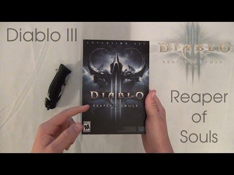 Diablo III: Reaper of Souls - Unboxing and Overview