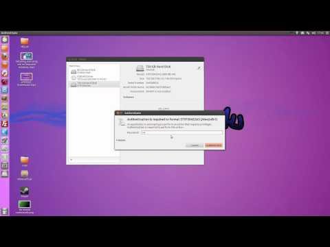 How To: Format Hard Drives/USBs In Ubuntu 12.04