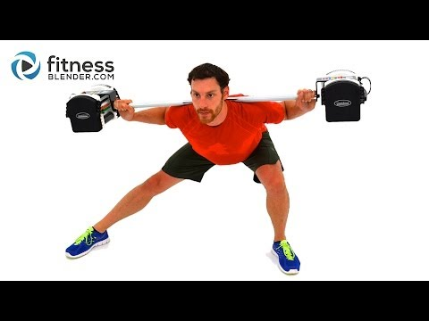 Mass Building Workout for Legs - 35 Minute At Home Lower Body Barbell Workout for Strength
