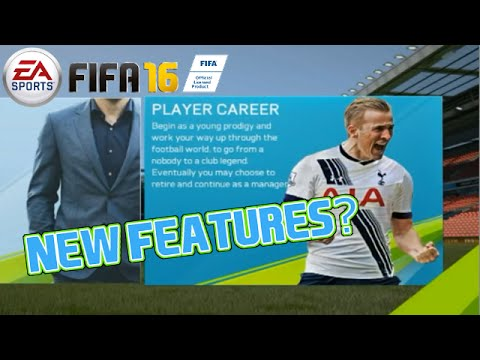 FIFA 16 My Player New Features!