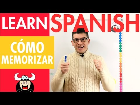 Learn Spanish -  How to memorize Spanish - Tricks for Memorizing Spanish Vocabulary Grammar and more