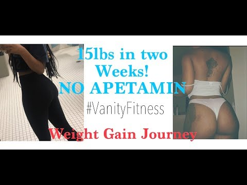 HOW I GAINED WEIGHT NATURALLY | NO APETAMIN
