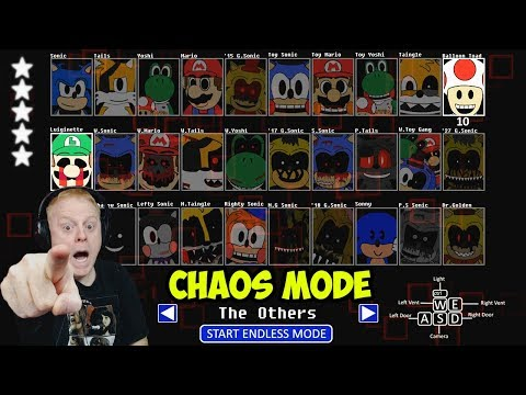 SONIC'S PIZZERIA SIMULATOR CHAOS MODE - THE OTHERS MODE | GOING FOR OUR 6TH STAR!!