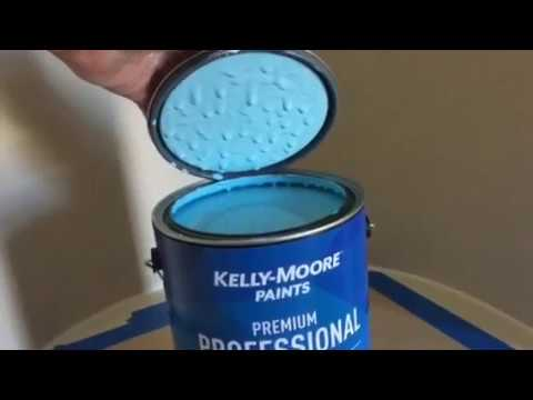 Ruby Slippers KM5485 Kelly Moore Paints and Blue Accents