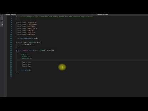 Beginner C++ tutorial 31 (Virtual functions)
