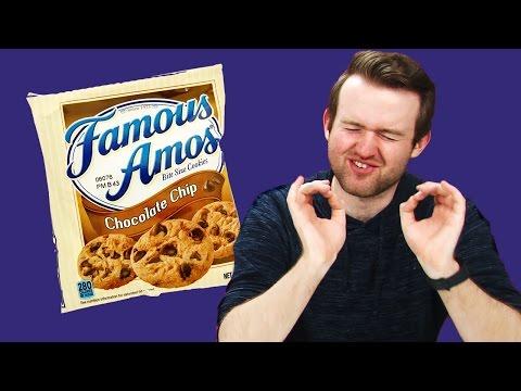 Irish People Taste Test American Cookies
