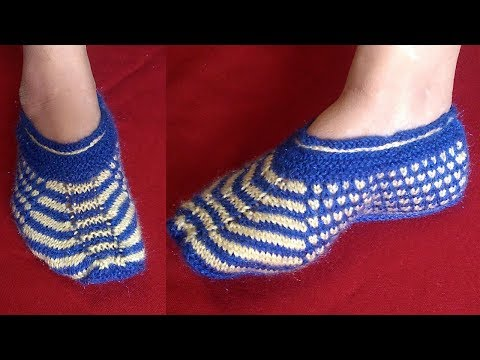 New Socks/Moza for Girls and Ladies (Knitting) in Hindi
