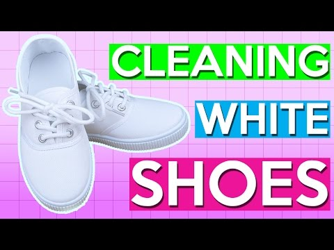 How to Clean White Canvas Shoes | PINTRY
