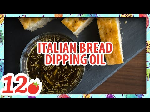 How To Make: Italian Bread Dipping Oil
