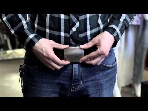 How to Put on a Cowboy Belt : Men's Fashion Tips
