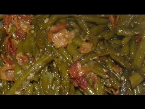 Southern Style Green Beans Revisited