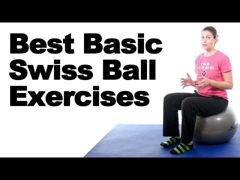 7 Best Swiss Ball Exercises for Beginners - Ask Doctor Jo