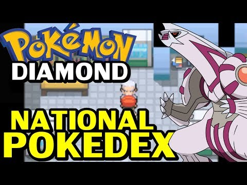 Pokémon Diamond (Detonado - Parte 31) - Palkia e National Dex!