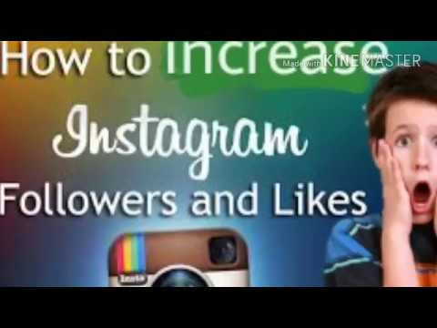 how to gain ( increase)10k instagram followers & like in a second  free  new trick 2017