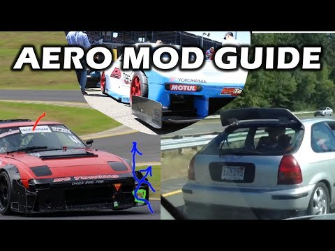 The Beginners Guide to Aero Modifications for your Car