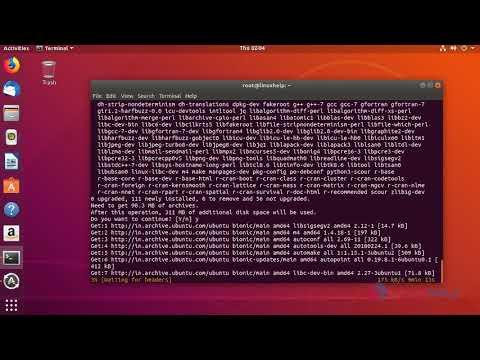 How To Install R on Ubuntu 18.04