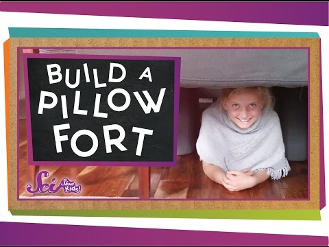 How to Build a Pillow Fort!