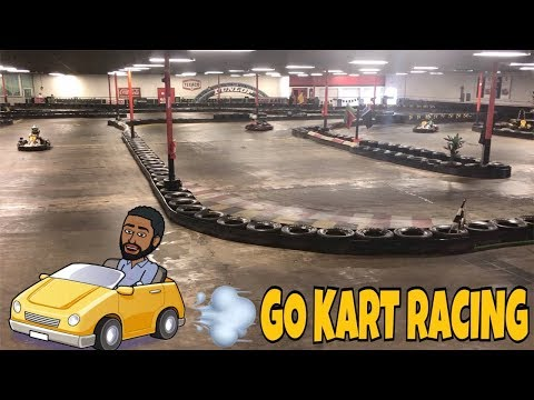MY DAUGHTER WENT GO KART RACING FOR THE FIRST TIME