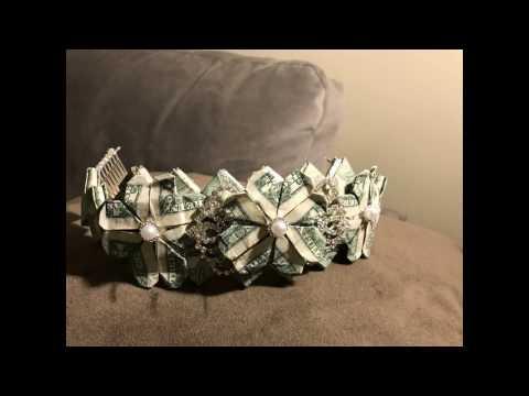 Money Gift Tiara