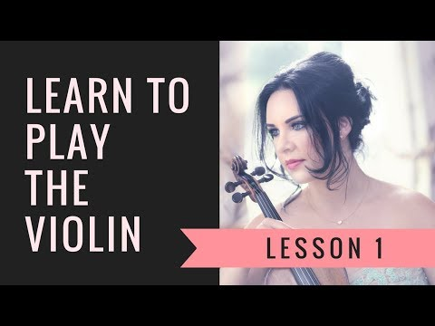 Learn the VIOLIN | EASY | Lesson 1/20 | How to hold the violin & bow
