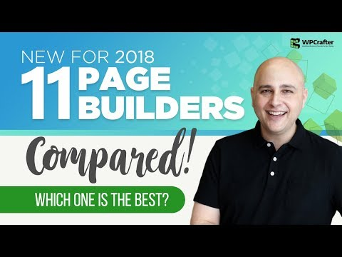 What Is The Best WordPress Page Builder - Beaver Builder, Divi, Elementor, Thrive Architect Compared