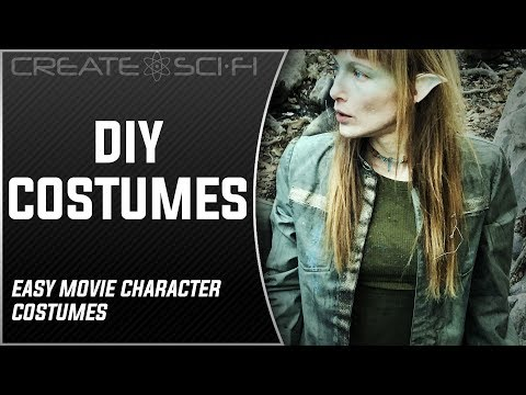 How To Make Costumes For Indy Filmmakers: DIY Thrifty No Sew Build Technique