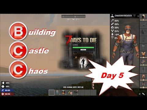 Building Castle Chaos  Day 5 (AL15)