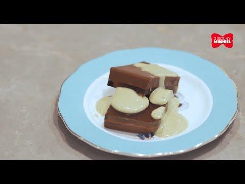 Resep Dessert : Chocolate Earl Grey Pudding with Avocado Sauce