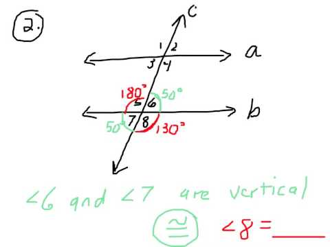 Angle Relationships with Parallel Lines (PART 1)