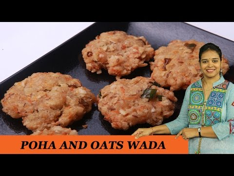POHA AND OATS WADA - Mrs Vahchef