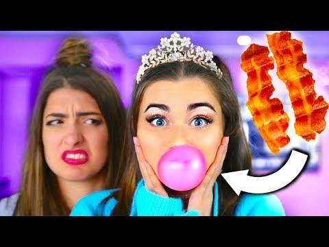 Trying WEIRD Gum Flavors! ft. Rclbeauty101