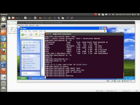 How to mount Windows Shared folder in Ubuntu