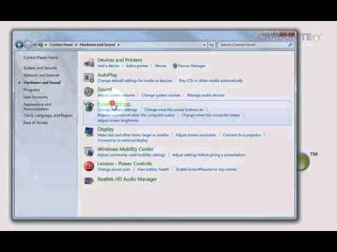 Sleep Settings in Windows Vista and Windows 7