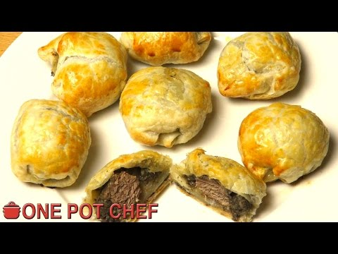 Mini Beef Wellington Bites | One Pot Chef