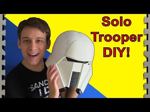 Solo Trooper Tutorial (Star Wars Range Trooper DIY)