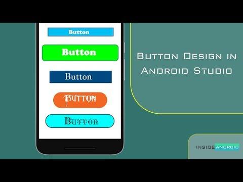 Button Design in Android Studio
