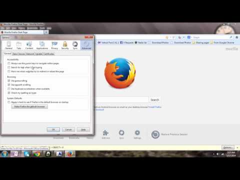 How to Make Mozilla Firefox as the Default Web Browser EASY !!