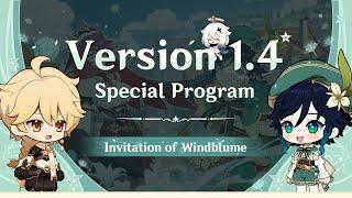 Version 1.4 Special Program|Genshin Impact